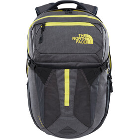 The North Face Recon Backpack asphalt grey white heather/blazing yellow
